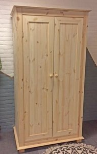 2-deurskast met OVERSTEEK 100cm breed kies uit 3 deuren