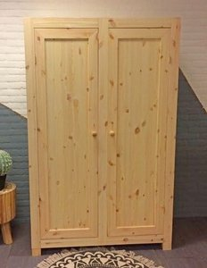 2-deurskast STRAK 112cm breed kies uit 3 deuren