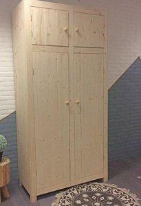 2-deurskast AMELAND met bovenkastjes 112cm breed