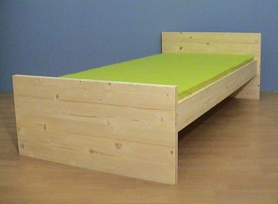 1-persoonsbed CARLO 80x180 t/m 100x220