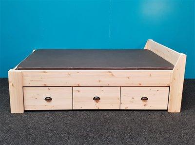 2 p.bed JACQUELINE 3la XXL-2,8cm dik komgrepen