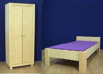 1-pers.bed BORIS met 2-deurskast AMELAND