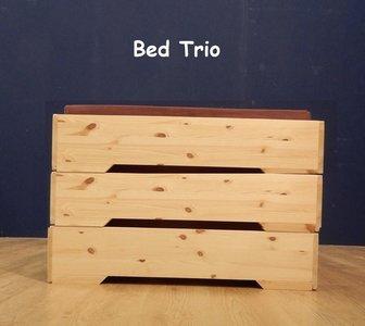 1-persoonsbed TRIO - in 5 seconden 3 bedden