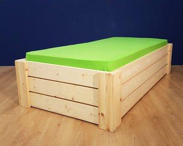 1-p.bed HARRY 3 lats 80x180 t/m 100x220