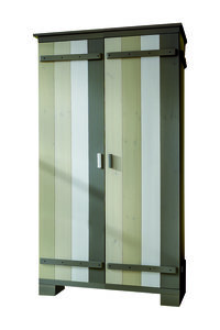 2-deurskast MERLIN in 4-kleuren