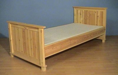 1-p.bed BOBBY hoog 80x180 t/m 100x220