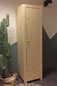 1-deurskast STRAK met LA 54 of 59,5cm breed