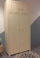 2-deurskast Ameland met bovenkastjes
